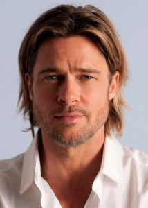 Bradd Pitt z brodą