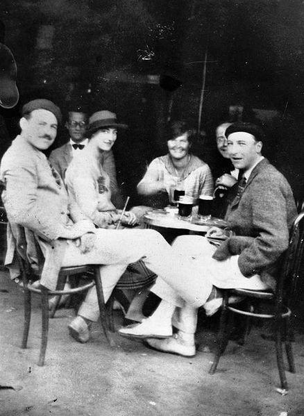 Ernest Hemingway Paryz