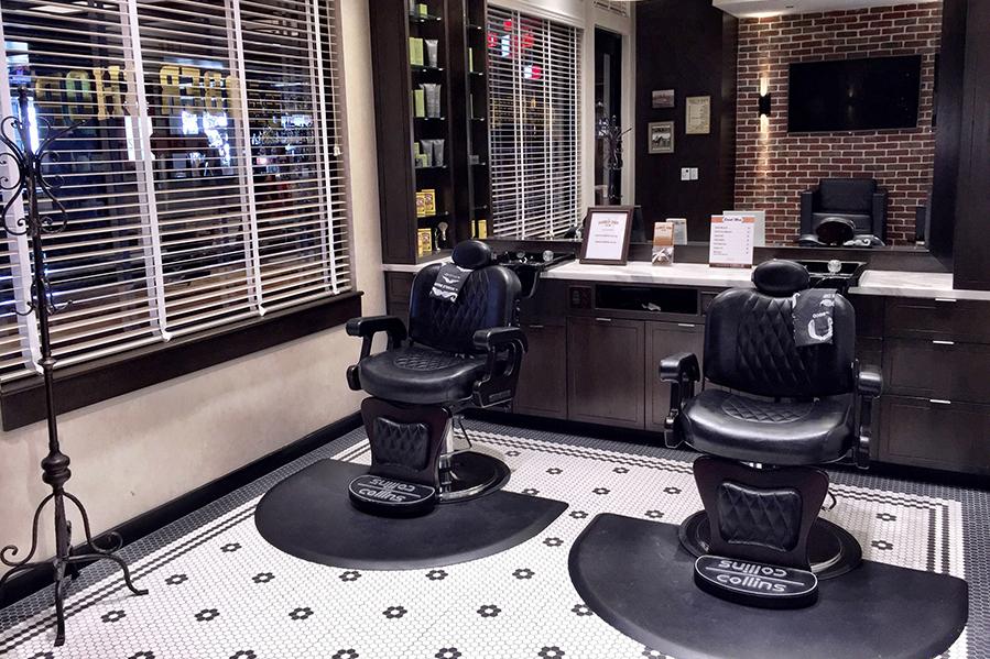 Elegancki barbershop