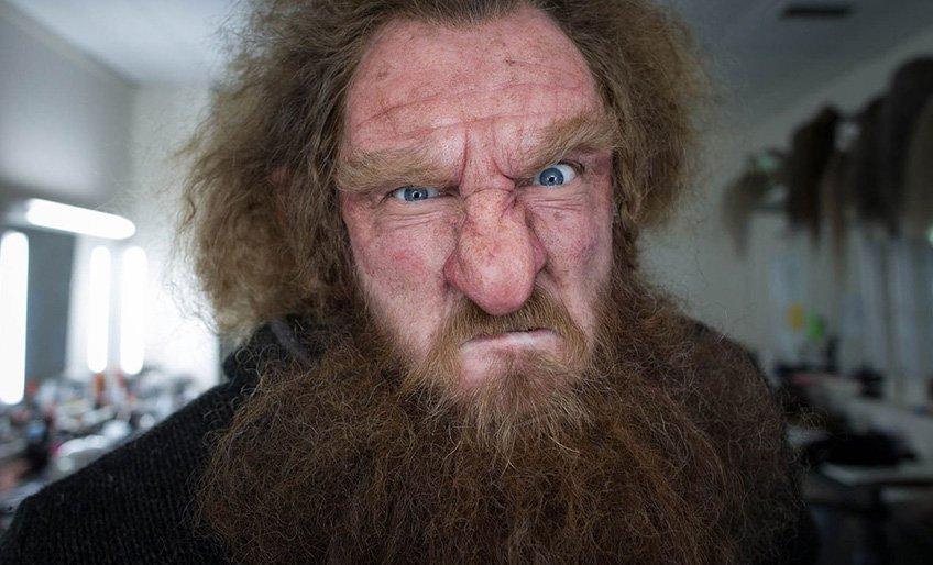 Kręcona broda