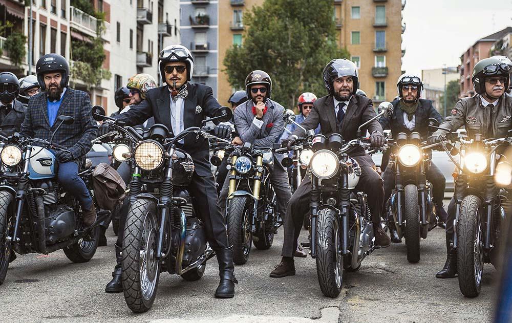 Distingushed Gentlemans Ride Motocykliści